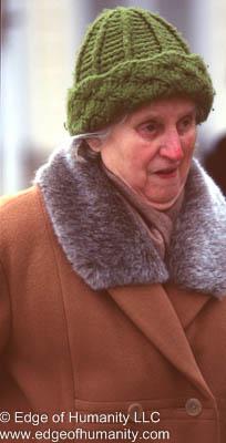 Elderly Woman - Prague , Czech Republic