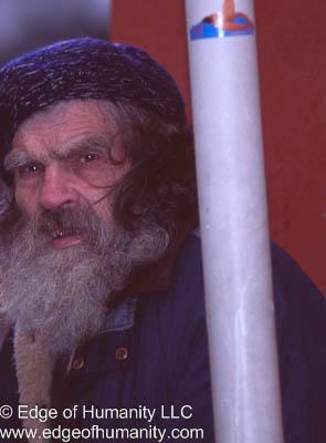Elderly Man with Beard - Prague , Czech Republic