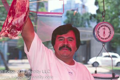 Butcher - Mexico.