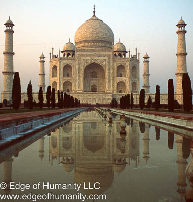Travel photography taj mahal agra india edge of for Agra fine indian cuisine reviews