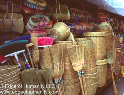 Mexican natural housewares.