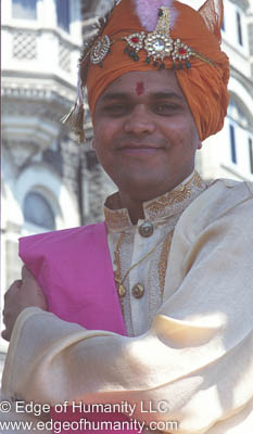 Man from India.