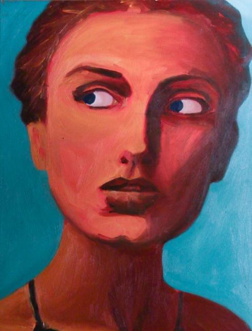 Painting - Valentine Vera at  Wild N' Art