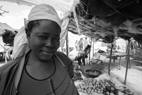 The vegetable seller, Ilha da Mocambique, Mozambique