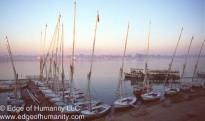 Falucas - Aswan, Egypt