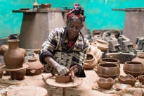 Dorze Pottery, Dorze Village, Guge Mountains, Ethiopia