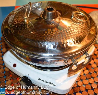 Heat source & shabu-shabu pan