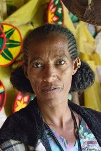 The women in Tigray have a very distinguished way of doing their hair - Tigrinya, Aksum, Ethiopia