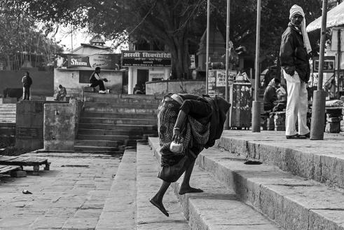 Old Woman @ Varanasi