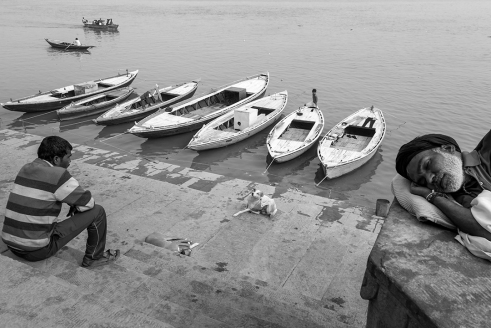 Life @ Ghats of Varanasi