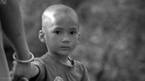 Approx 2 years back, I met this kid who had recently witnessed death of his close relative. He was still scared.