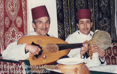 Musicians from Morocco.