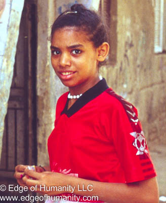Girl from Egypt.