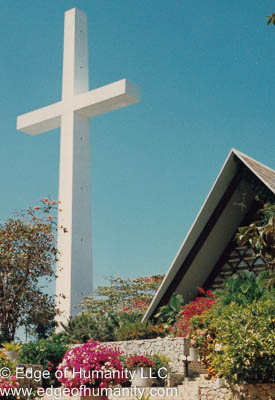 Cross in Acapulco, Mexico.