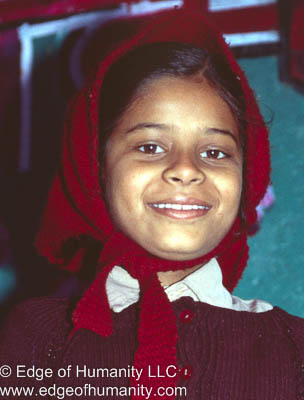 Girl from India.