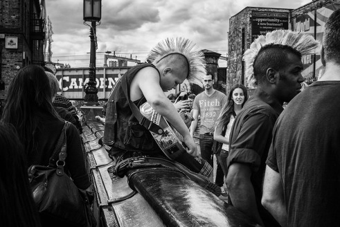 Punks in the summer - Camden Town, London