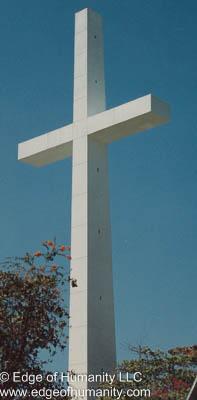 Christian cross, Acapulco, Mexico.
