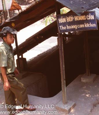 Cu Chi Tunnels, Vietnam.