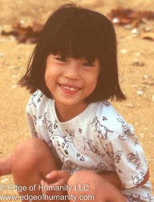 Child in Thailand.