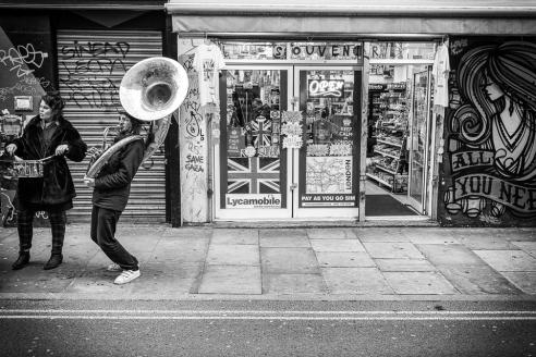 Broad bell Performance, Brick Lane, London