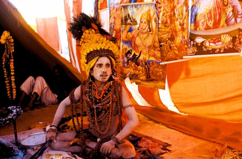 No one knew his real name. He was known as Rudraksha Baba (A Sadhu with prayer beads) as he wore lots of Rudrksha Mala.