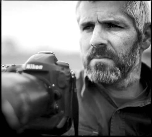 Photographer Laurent Baheux