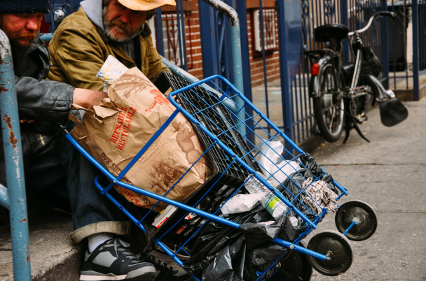 Photo essay homeless in america