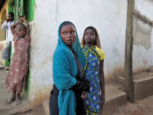 Muslim girls of the Digo tribe during another South Coast disturbance in early 2014