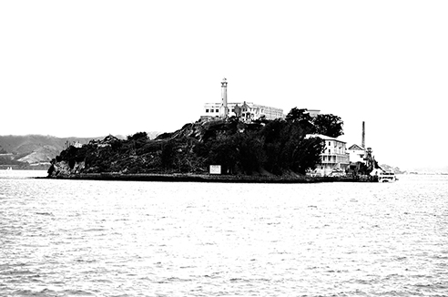 """Alcatraz Island"" California, USA"