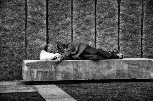 Angel caido - A Coruña, Spain