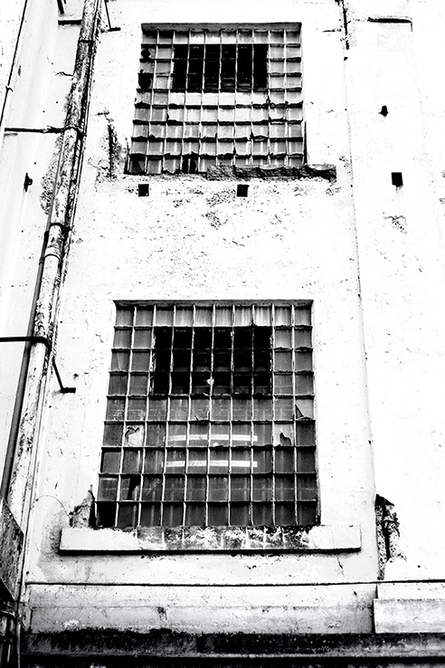 """Barred windows"" Alcatraz, California, USA"