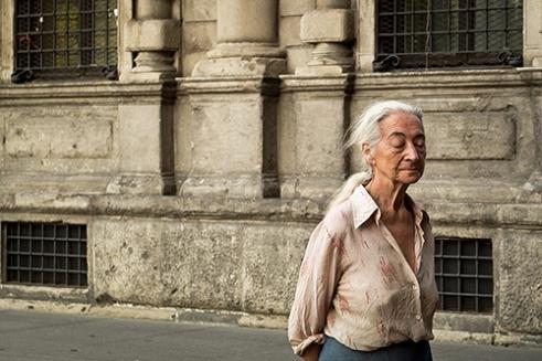 Memories fading Milan, Italy