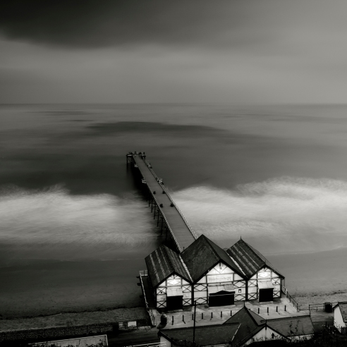 Saltburn Pier By Night<br /> SALTBURN By THE SEA<br /> County of Teeside