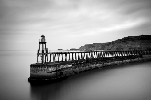 Whitby Pier<br /> WHITBY Yorkshire