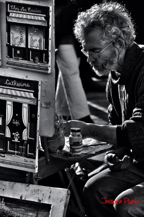 The painters of Montmartre - Place du Tertre