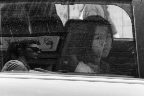 """""""Taxi girl"""" Rome, Italy"""