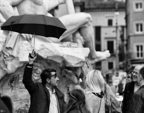 """""""Tourist guide"""" Rome, Italy"""