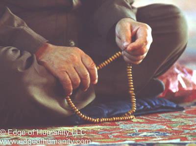Praying Damascus, Syria