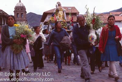 Procession Peru