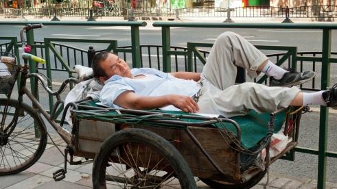 """""""Afternoon nap"""" Shanghai, China"""