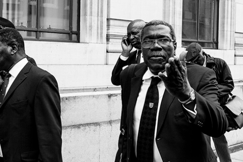 Confrontation Great Queen Street, London, UK