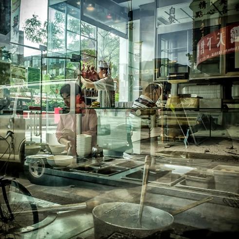 """""""Dinner"""" Chinatown, Spadina Avenue, Toronto, Ontario, Canada"""