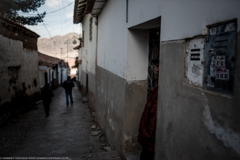 The back streets of Cusco