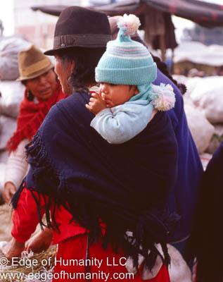 Infant Ecuador