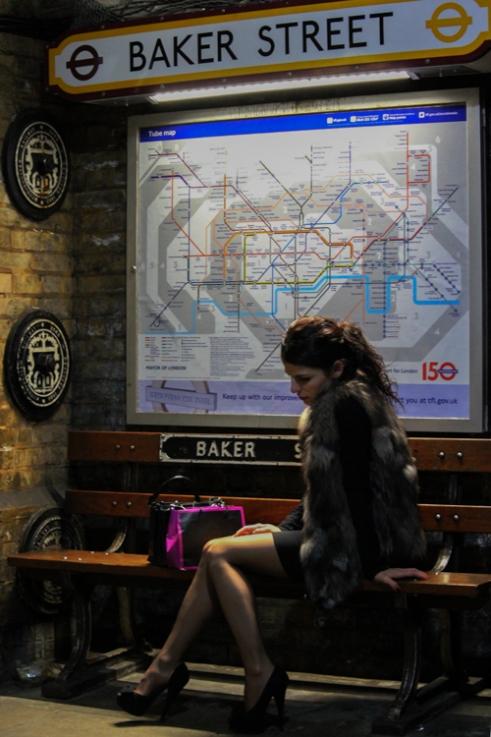 Baker Street Station London, UK