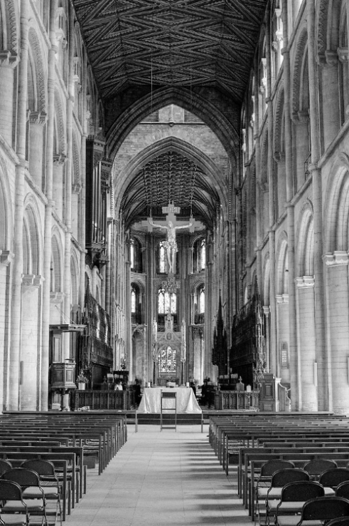Petrborough Cathedral, England