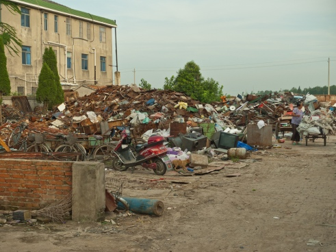 """Recycling depot"" Yancheng, China"