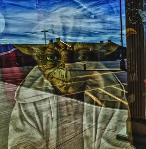 """Reflections of Master Yoda"" St. Catharines, Ontario, Canada"