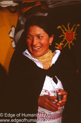 Woman from Ecuador