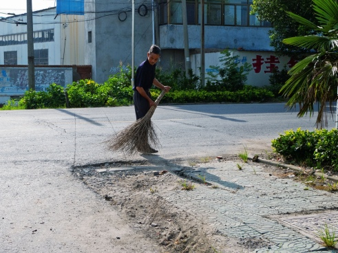 """Sweeping"" Yancheng, China"